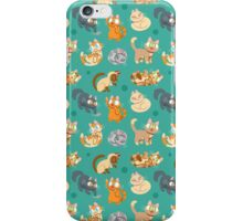 Whole Lotta Cat (Natural version) iPhone Case/Skin