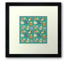 Whole Lotta Cat (Natural version) Framed Print