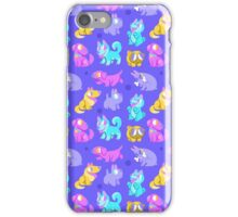 Whole Lotta Dog (Neon version) iPhone Case/Skin