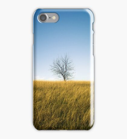 Lonely tree iPhone Case/Skin