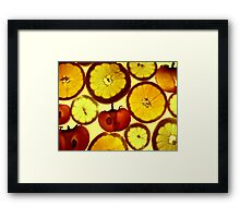Fruit Land Framed Print