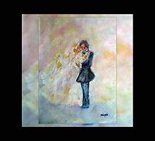 Wedding Dance Art Designed Decor & Gifts - Midnight by innocentorigina