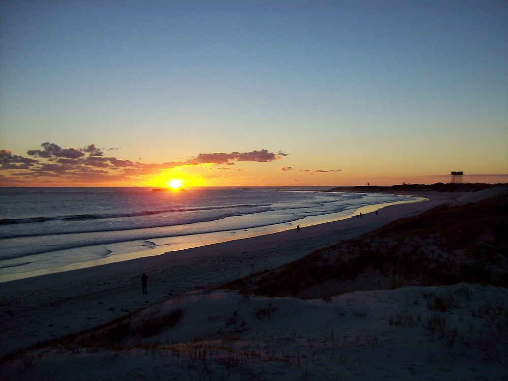 sunset at Lancelin3 by dodgsun