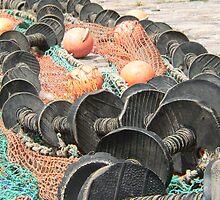 Fishing nets by jan Robertson