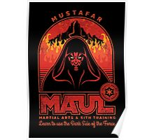 Maul Martial Arts Poster