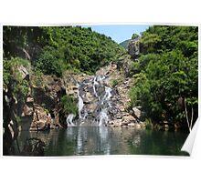 The Hidden Waterfall - Hong Kong. Poster