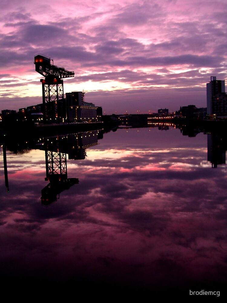 glasgow sunrise by brodiemcg