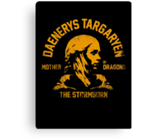 MOTHER OF DRAGONS 3 Canvas Print