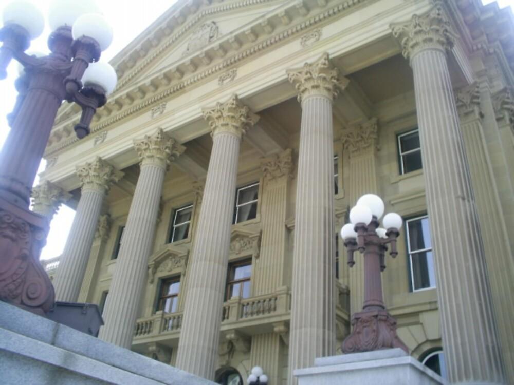 alberta parliment building by oilersfan11