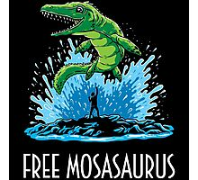 Jurassic World Free Mosasaurus Photographic Print