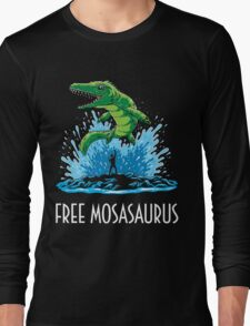 Jurassic World Free Mosasaurus Long Sleeve T-Shirt