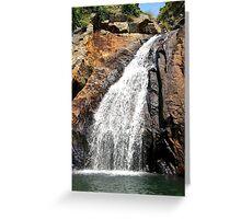 The Hidden Waterfall II - Hong Kong. Greeting Card