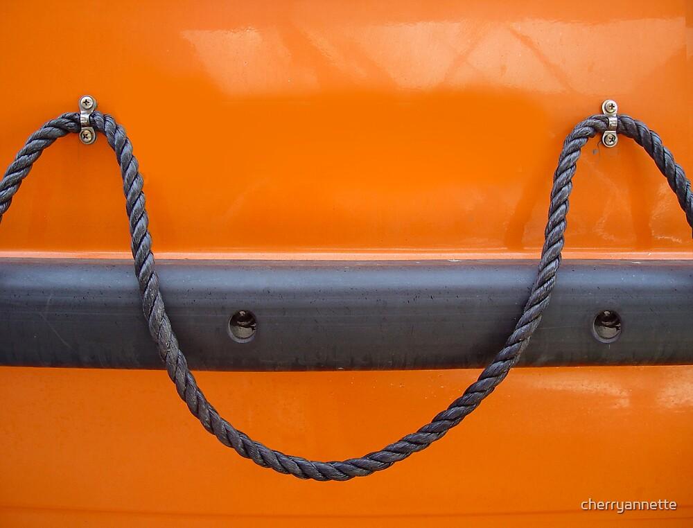 Nautical orange by cherryannette