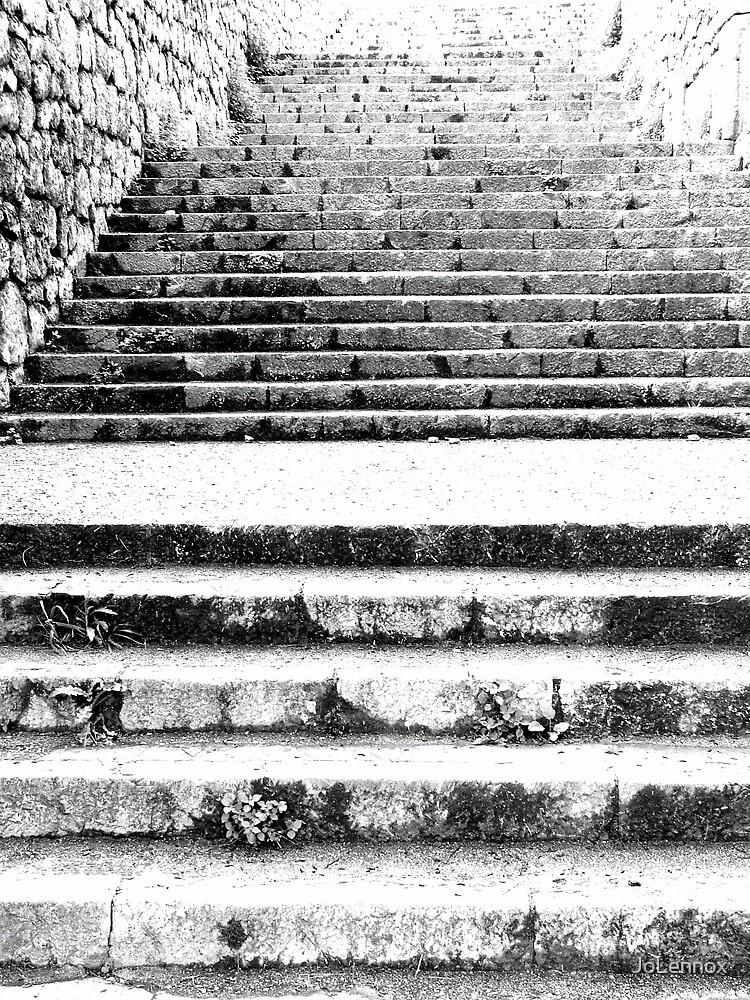 Steps At Arta by JoLennox