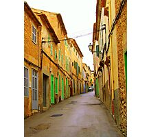 Arta Back Streets Photographic Print