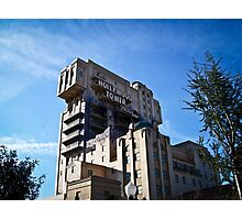 Hollywood Tower of Terror - Disneyland Paris Photographic Print