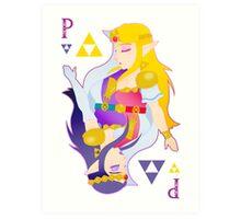 Princess of Triforce  Art Print