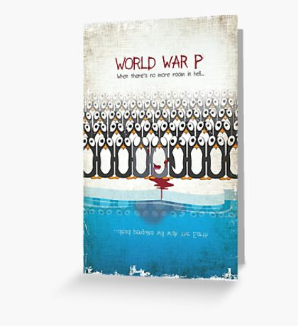 World War P Greeting Card