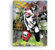 Suicidal Blond Canvas Print