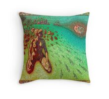 Bendy Afternoon Throw Pillow