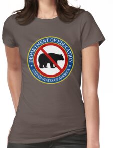 Betsy Devos Potential Grizzlies Bear Shirt Womens Fitted T-Shirt