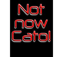 Not now Cato! Cato Fong is Clouseau's Chinese manservant, Pink Panther Photographic Print