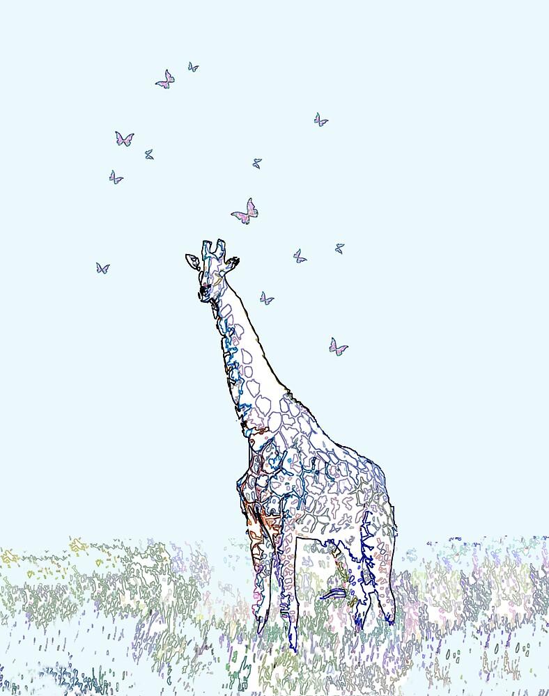 Giraffe by Alana Hodgins