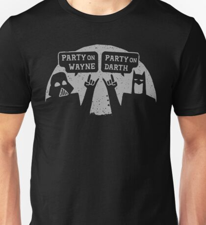 Party On Wayne Unisex T-Shirt