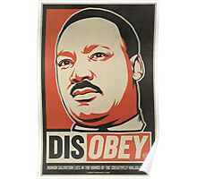 MLK Disobey Poster