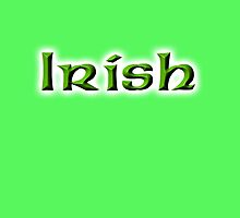 Irish, Ireland, Eire, Emerald Isle, St Patricks Day, On Emarald Green by TOM HILL - Designer
