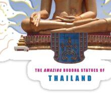 Amazing Thai Buddha Statues Sticker