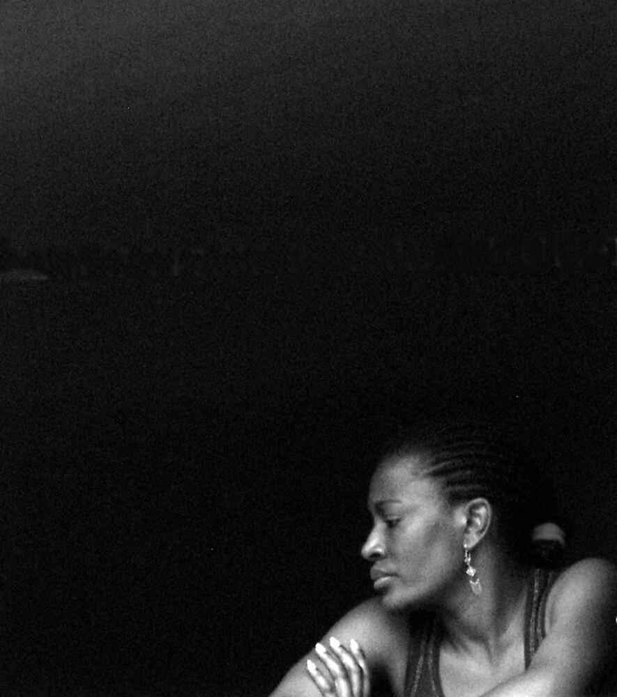 Woman in the Window-Siena, Italy by Deborah Downes
