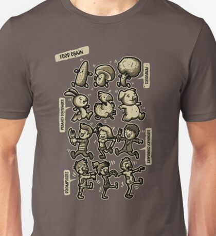 Food Chain Unisex T-Shirt