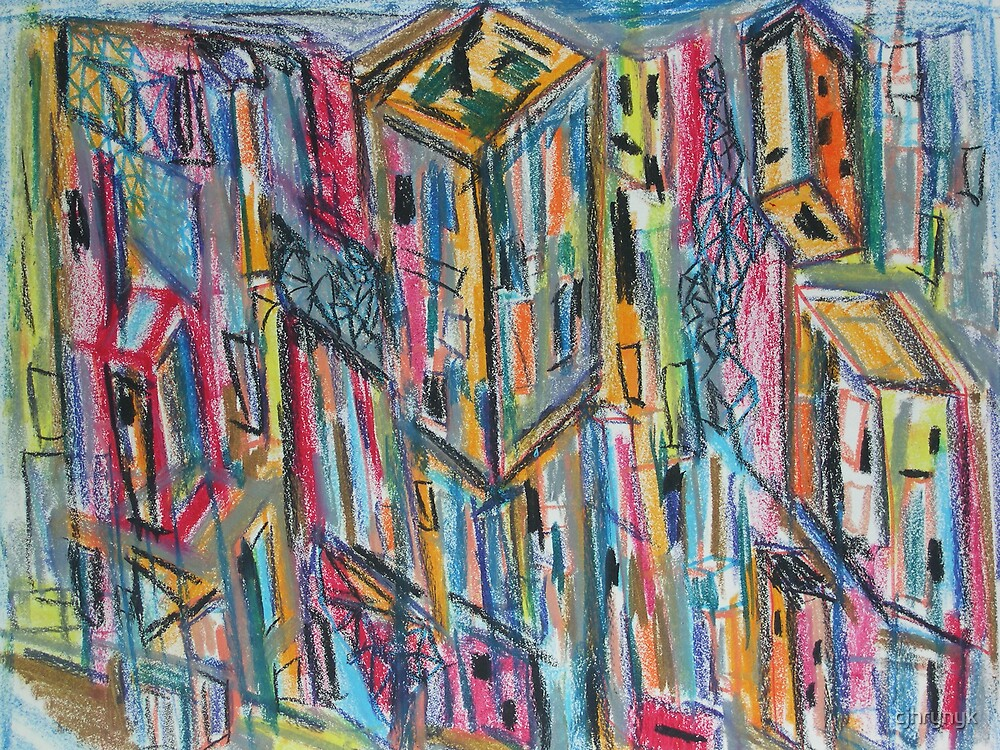 Omonia Square Pegs by cjhrynyk
