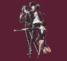 Psycho-Pass - Akane / Shinya / Nobuchika by Daniel J. Carville