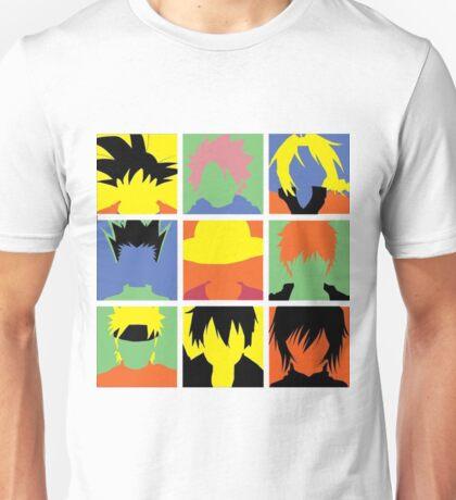 Best Shonen - Naruto, Dragon Ball, Fairy Tail, Sword Art Online, Bleach, Hunter x Hunter, Full Metal Alchemist Unisex T-Shirt