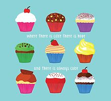 Where There Is Cake (BLUE) by Shaun Baker