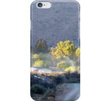 Dawn light over Nieu Bethesda iPhone Case/Skin