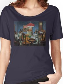 Dogs Playing D&D Women's Relaxed Fit T-Shirt
