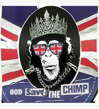 God Save The CoolChimp Poster