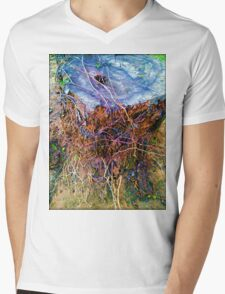 Slow Decay Mens V-Neck T-Shirt