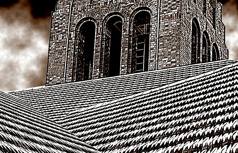 church roof by archibald