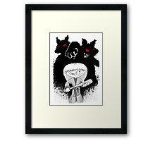 Jenny The Werewolf Hunter Framed Print