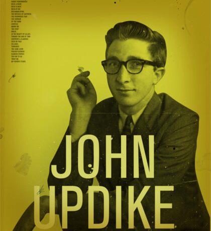 John Updike Sticker