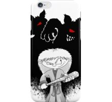 Jenny The Werewolf Hunter iPhone Case/Skin