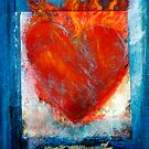 Sacred Sanskrit Heart by Elena Ray