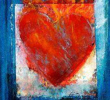 Sacred Sanskrit Heart by Antaratma Images