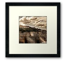 Naples Hills Framed Print