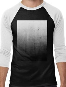 Black Ombre on Concrete Texture Men's Baseball ¾ T-Shirt
