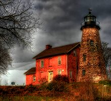 Charlotte Genesee Lighthouse by thejdawg